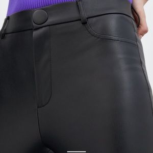 Zara Pants - Zara faux leather leggings